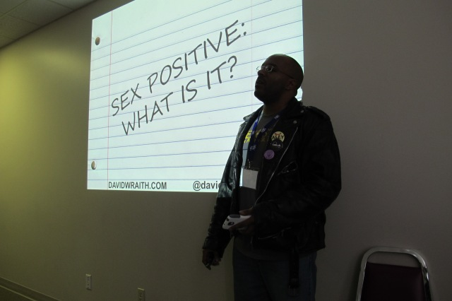 "Presenting ""Sex Positive (What Is It ?)"" at Westcoast Bound in Vancouver, British Columbia."